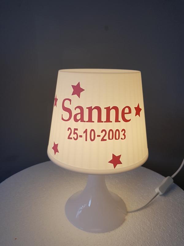 Tafellamp kunststof