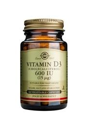 Vitamine D3 - 600 iu 60 v-caps