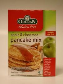 Orgran appel en kaneel pannenkoeken mix 375 gr