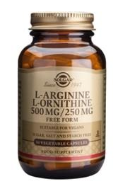 L-Arginine / L-Ornithine 50 caps