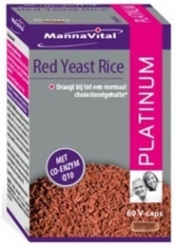 Mannavital Red Yeast Rice Platinum 60 cap