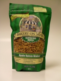 Bakery on main muesli appel, rozijn en walnoot 340 gr