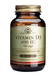 Vitamine D3 - 400 iu 100 softgels