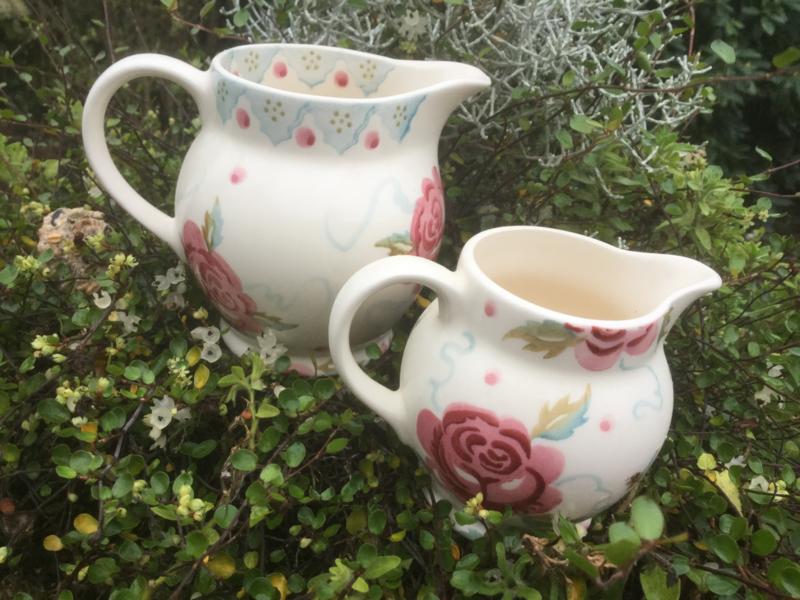 twee rozen kannetjes bridgewater