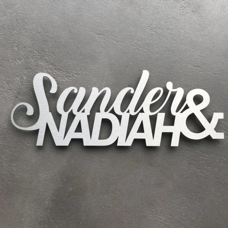 Sander en Nadiah