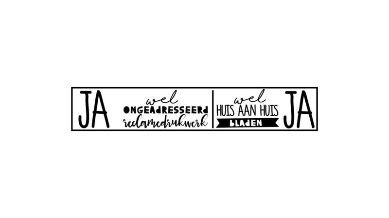 Brievenbus Stickers