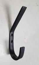 Haak zwart M metaal 15cm