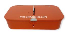 Brabantia poetsmiddelendoos oranje