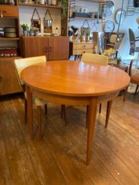 Vintage Pastoe tafel uitschuifbaar Cees braakman