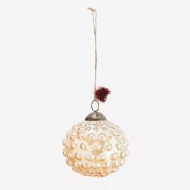 Glazen decoratie/kerstbal L Madam Stoltz