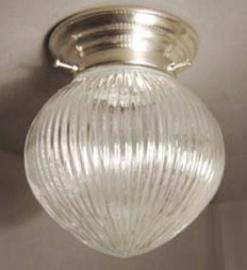 Plafonnière Ribbelbol prismatic
