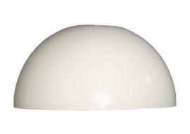 Glas tafellamp opaal