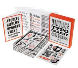 Kaartbox Vintage typography