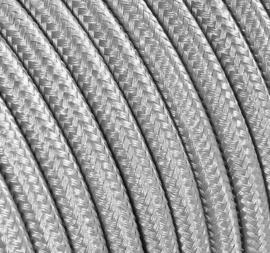 Textielsnoer zilver