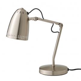 Dynamo bureaulamp nikkel mat