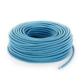 Textielsnoer mediterranean blauw
