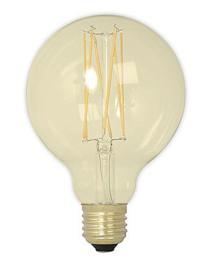 95MM 4W LED FILAMENT GLOBE GOLD -DIM
