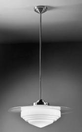 Hanglamp Deco punt + glasplaat