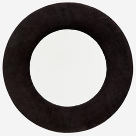 Velvet spiegel zwart Madam Stoltz
