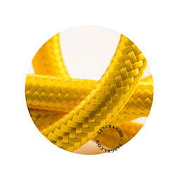 Textielsnoer geel