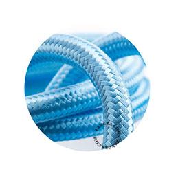Textielsnoer babyblauw