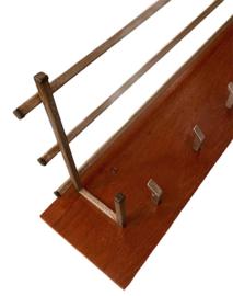 Kapstok hout-metaal