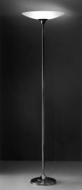 Vloerlamp Standaard + glas (wit)