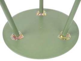Set bijzettafeltjes groen