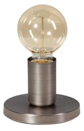 Tafellamp vintage zilver