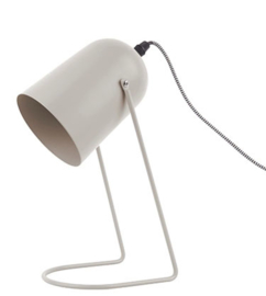 Tafellamp warmgrijs