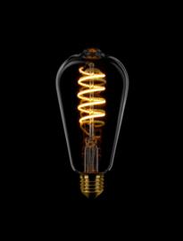 3-standen LED spiraal Edison smoke