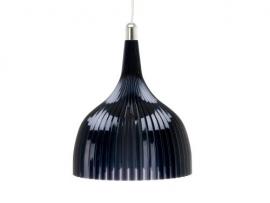 "Hanglamp ""ui"" zwart transparant"