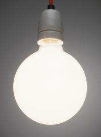 Globelamp 95mm 100w opaal softone Osram