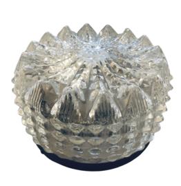 Plafonnière kristalglas