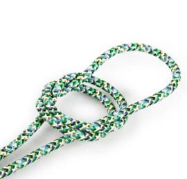 Textielsnoer confetti groen