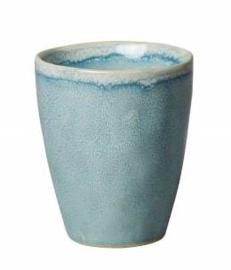 Beker/mok M aquablauw