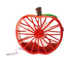 Ventilator 'Appel' rood