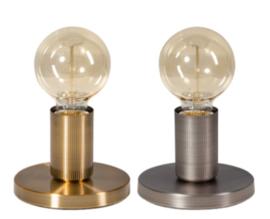 Tafellamp vintage gold