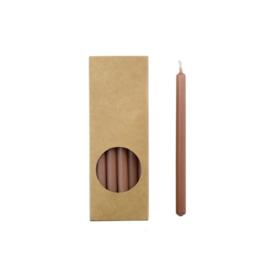 Set 20 kaarsen brique D:12mm H:175mm