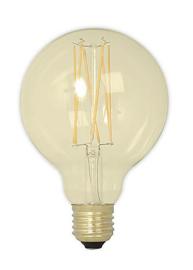 80MM  4W LED FILAMENT GLOBE GOLD -DIM