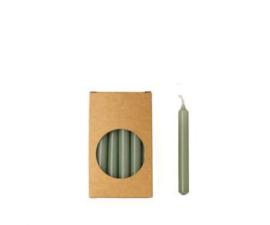 Set 20 kaarsjes eucalyptus D:12mm