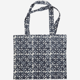 Shopper blauw/grijs Madam Stoltz