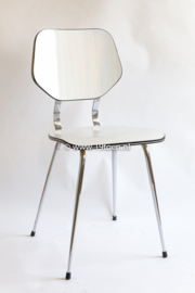 Formica stoel wit