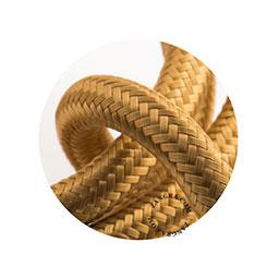 Textielsnoer d.goud