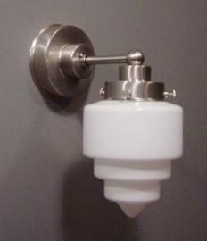 Wandlamp Recht strak + Trappunt
