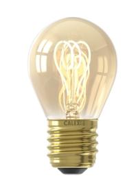 4W LED E-27 kogel goud spiraal dim