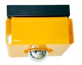 Plafonnière/wandlamp geel