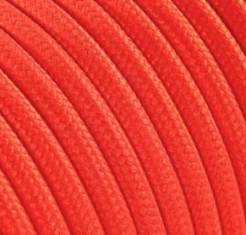 Textielsnoer neon oranje
