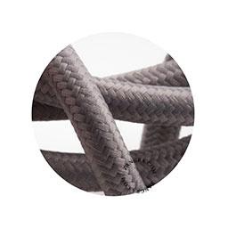 Textielsnoer grijs
