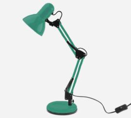 Bureaulamp Hobby zeegroen